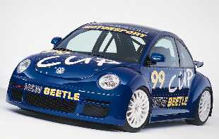 New Beetle Cup Frontansicht